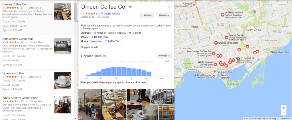 How Google Ranks Local Businesses