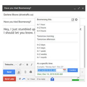 Boomerang This! Put Your Gmail Marketing on Steroids